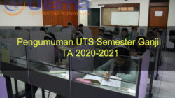 Pengumuman UTS Semester Ganjil TA 2020-2021