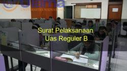 Surat Pelaksanaan Uas Reguler B