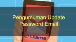 Pengumuman Update Password Email